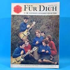DDR FÜR DICH 18 1967 Warnowwerft Rostock Ferdinandshof Puppenwagen Kampfgruppe R