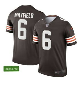 Baker Mayfield Nike NFL On-Field XL Brown Jersey Browns NEW UNOPENED NWT XL