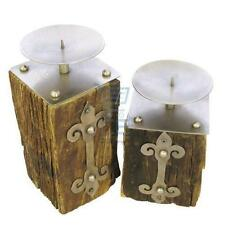 Wooden Candle & Tea Light Plates/Trays