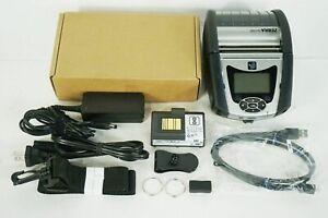 Zebra QLN320 QN3-AUGA0E00-S1 Direct Thermal Handheld Portable Printer COMPLETE