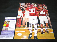 DONT'A HIGHTOWER ALABAMA TIDE SIGNED 8X10 PHOTO JSA COA BIG SALE! CHAMPIONS!