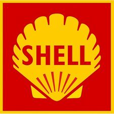 SHELL Sticker vinyle laminé