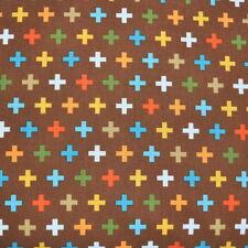 Teal ATOMIC STAR HARLEQUIN PALM CANYON Robert Kaufman fabric diamond mcm green