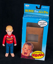 Vtg 91 THQ Home Alone Doll SCREAMING KEVIN #7150 Movie Figure w/ Box SEE VIDEO