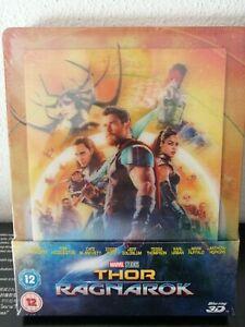 Thor Ragnarok Steelbook Lenticular Zavvi 3D Blu Ray