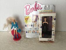 1995 Barbie Keychain Box Unopened & Mattel McDonald's Barbie Cowgirl Cake Topper