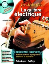 Je débute la guitare électrique - Guitare électrique - Partition + CD (Playback)
