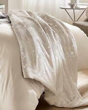 Kylie Minogue Marisa Cream Sequin Bedspread 130cm X 220cm