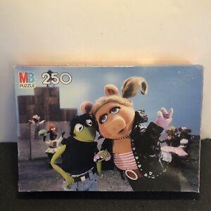 Vintage Muppets Puzzle Miss Piggy Kermit Grease MB Milton Bradley Incomplete