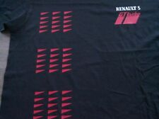 renault 5 gt turbo t shirt TAG M