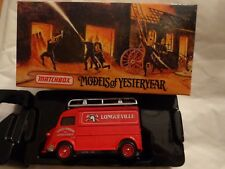 YFE13 MATCHBOX MODELS OF YESTERYEAR 1947 CITROEN TYPE H VAN FIRE ENGINE