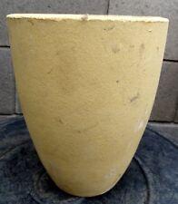 Schmelztiegel, Tonschmelztieg für ca. 10kg Gold / Silber / Kupfer Schmelzgewicht
