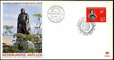 Netherlands Antilles 1967 Manuel Piar FDC First Day Cover #C35524