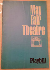 1967 MAY FAIR THEATRE: TOBY ROBINS CALVIN LOCKHART  in DUTCHMAN  / NEIGHBOURS