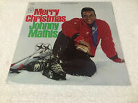 LP JOHNNY MATHIS Vinyl MERRY CHRISTMAS 1965 STEREO CS 8021(M)