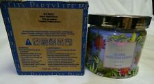 Partylite 3-Wick Jar Candle Nib Island Passionflower G73925