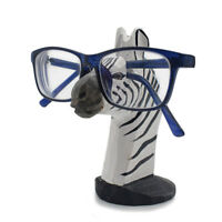 Eyeglass Organizer Holder Stand Cute Zebra Glasses Storage Rack Ornament Gift