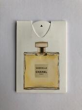 CHANEL Gabrielle Perfume Fragrance Sample Card Margot Robbie