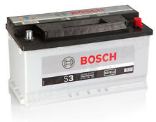 BOSCH 90 Ah Autobatterie S3 013 12V 90Ah Batterie ETN 590122072 NEU