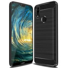 SDTEK Karbon Schutzhülle hülle Case Cover für Huawei P20 Lite