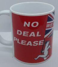 NO DEAL BREXIT MUG (NO SEX PLEASE, WE'RE BRITISH) PEOPLE'S VOTE EUROPEAN SOVIET