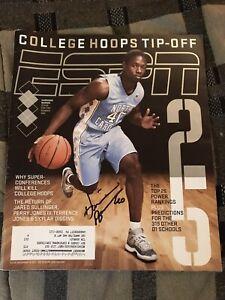 Harrison Barnes Signed Autograph ESPN Magazine North Carolina Tar Heels