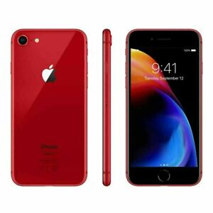 Apple iPhone 8 256GB Fully Unlocked (GSM+CDMA) AT&T T-Mobile Verizon Red