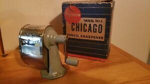 Chicago Nickel No.2 Pencil Sharpener
