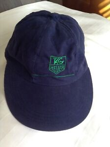 TAG HEUER BASEBALL CAP NAVY W/EMBROIDED GREEN LOGO ADJUSTABLE SEE PHOTOS