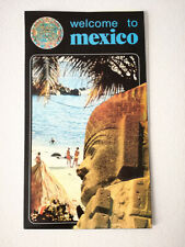 Vintage Mexico Travel Brochure Guide 1980