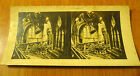 ancienne photo stereo guerre 14 18 ruines cathedrale de soissons ww1 poilu