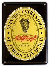 GUINNESS 250 YEARS Small Vintage Metal Tin Pub Sign
