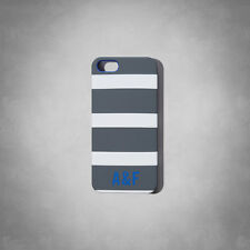 New Abercrombie & Fitch  iPhone Case For iPhone 5/5S Grey Stripe  New In Box