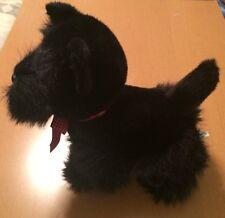 Fiesta Black Scottie Dog Plush