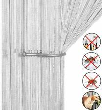 String Door Curtain Fly Insect Bug Screen String For Doorways Divider 90x200cm
