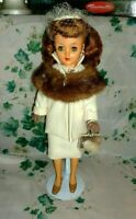 """XRARE IDEAL REVLON 20"""" DOLL-MAGNIFICENT HAIR,CAPTIVATING INSET EYES,OUTFIT-1950"""