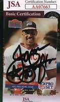 JAMES LOFTON 1992 Pro Set JSA Cert Hand Signed Authentic Autograph