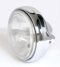 Prismen Scheinwerfer H4 chrom Moto Guzzi California Mille GT chromed headlight