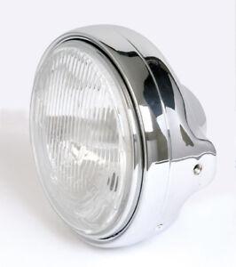 Prisms Headlight H4 Chrome Moto Guzzi California Mille Gt Chromed Headlight