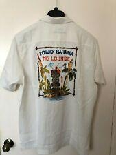 Tommy Bahama Button Shirt Silk Tiki Lounge T322218 Coconut Cream 3xl