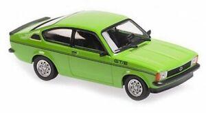 OPEL C - Kadett GT/E - 1978 - green - Maxichamps 1:43