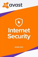 Avast INTERNET SECURITY 2018, 1 PC 1 Year (LATEST DOWNLOAD VERSION)