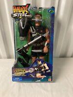 2001 Mattel Max Steel Super Agent figure Dive Force Rare