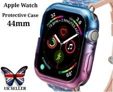 Apple Smart Watch Series 4 and 5 Screen Protector Case 44mm Blue And Purple