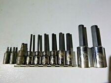 Armstrong Tools Usa 14 38 12 Drive 11pc Tamper Torx Amp Hex Drive Socket Set
