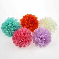 100 Artificial Chrysanthemum Ball Heads Daisy Bouquet Silk Flowers Wedding Decor
