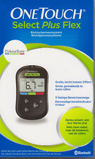 Onetouch Select plus Flex Blood Glucose Meter Mmol L Nip V Med. Specialist