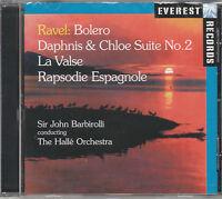 RAVEL: BOLERO; DAPHNIS & CHLOE SUITE No 2; LA VALSE; RAPSODIE ESPAGNOLE @NEW CD@