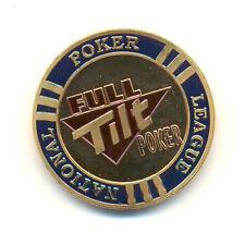 Card Guard FULL TILT POKER -  poker chips fiches texas hold em