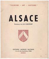 DE LATTRE DE TASSIGNY DOLLINGER HAUG PAIRA CURUTCHET - ALSACE - 1947